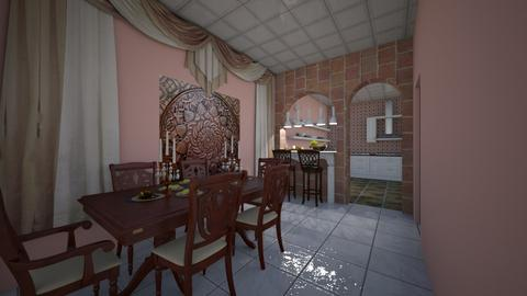Vila Margarida - Classic - Dining room - by Mariesse Paim