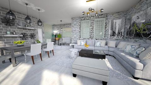 bricks_bricks - Living room - by Moonpearl