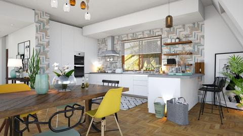 Playful - Kitchen - by zarky
