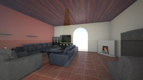 nappali_budafok_gray2 - Living room - by doralocsi