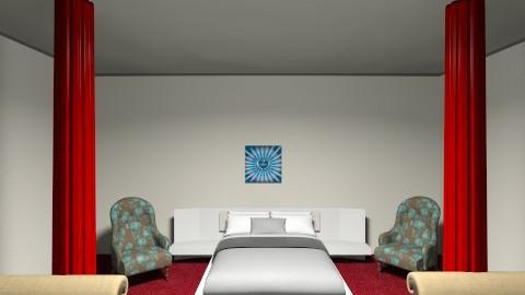 Queen Bedroom - Bedroom - by AnaACE16