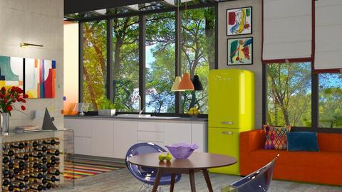 an artful kitchen - by Marina Struwig