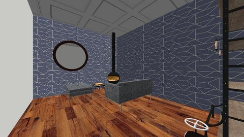 Industriel - Living room - by Mariken