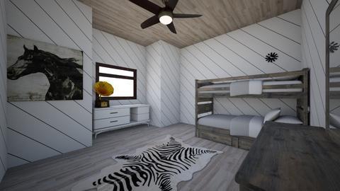 Bedroom for the future - Bedroom - by soccermanward
