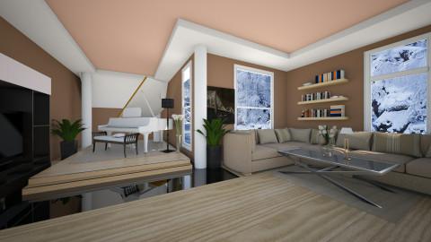 warm home - Classic - Living room - by Nina26