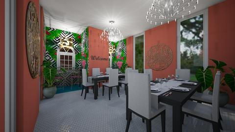 My dream dinning room - by Cool Coder Girl