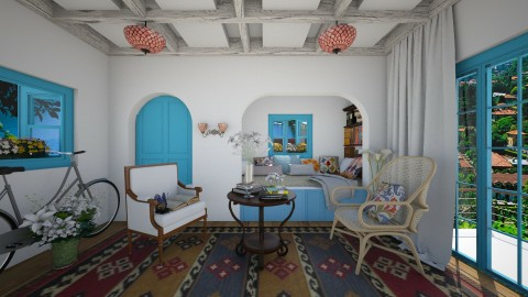Vacation - Eclectic - Bedroom - by Laurika
