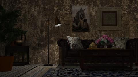 dark - Living room - by Sirtzuu93