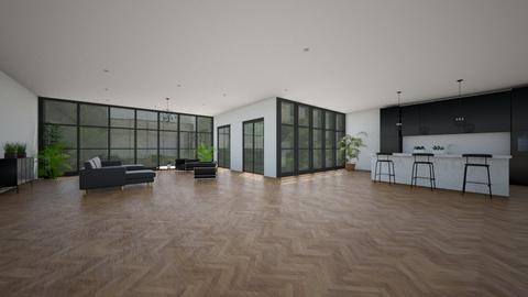 common area - Modern - Living room - by YourSisterTho