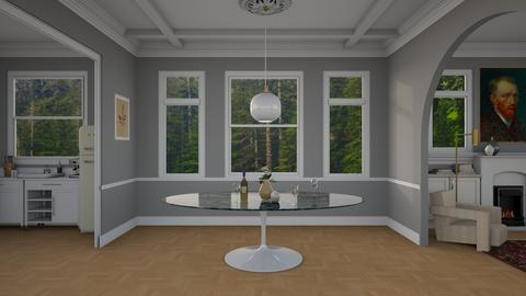 Traditional Modern - Dining room - by dwark