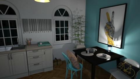 4 A room - by hipisiu