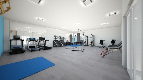 fittness room - by suzy25