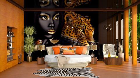 afro - Eclectic - Bedroom - by soralobo
