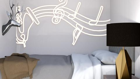 Mini Bedroom - Bedroom - by bleeding star