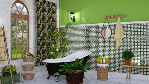 Botanicals - Bathroom - by barnigondi