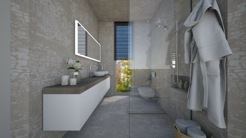 Casa146Bathroom - Glamour - Bathroom - by nickynunes