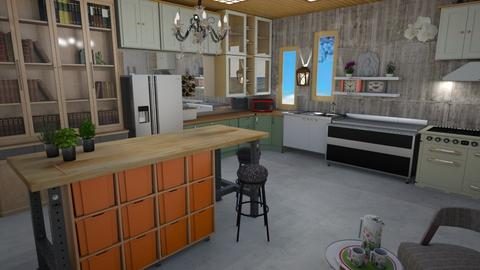 Eclectic kitchen 2 - Eclectic - Kitchen - by augustmoon