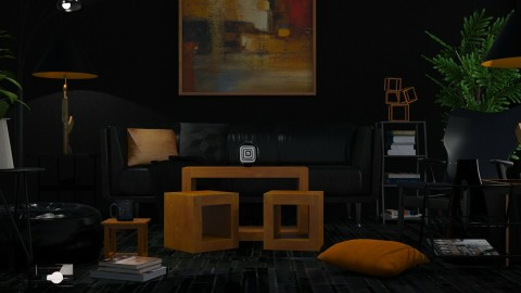 Blocks in Black - by JayPH