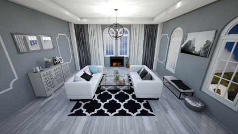 Sitting room - Feminine - Living room - by UloveTashi Designs