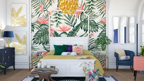 Maximalist Bedroom - Bedroom - by ArtHousedeco