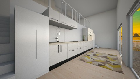 eco house - Minimal - Kitchen - by jjannnii