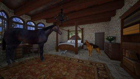 Bremen Town Musicians - Bedroom - by tag21