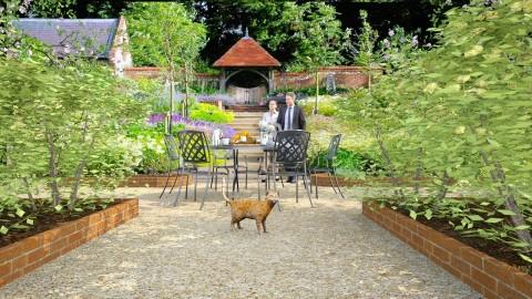 Garden Terrace - by Valentinapenta