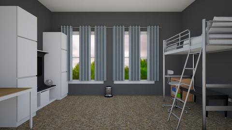 New bedroom design - Bedroom - by GoldiesGirl6589