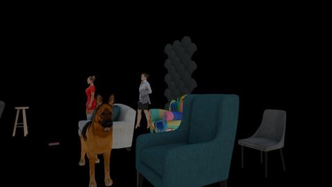 DZENA - Retro - Living room - by DZENA