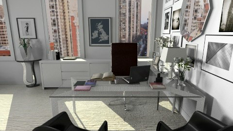 Miranda Priestly s Office - Modern - Office - by champorado