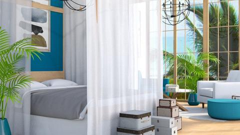 Palm Hotel Room - Global - Bedroom - by millerfam