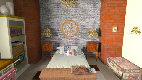 rustic - Rustic - Bedroom - by unprodigal
