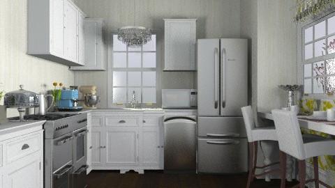 kitchen - Glamour - Kitchen - by sarahl