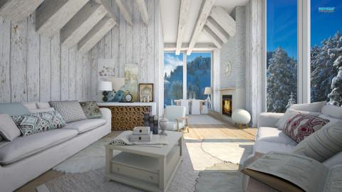 winter - Living room - by Senia N