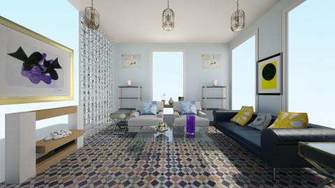 blue - Modern - Living room - by LAS95