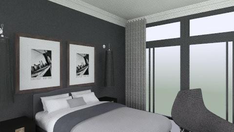 bedroom1 - Bedroom - by molesuit