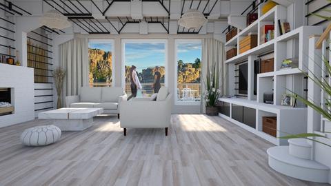 Design 413 Citizen Oak Planks - Living room - by Daisy320