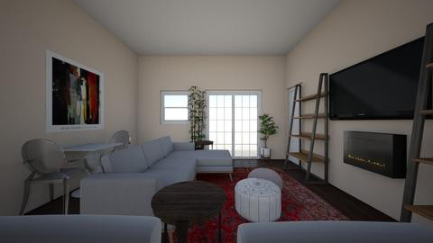 living dining apartment 2 - Living room - by haileymarn