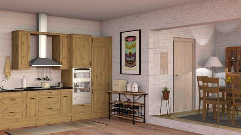 IP Artisan Kitchen - Rustic - Kitchen - by Sally Simpson