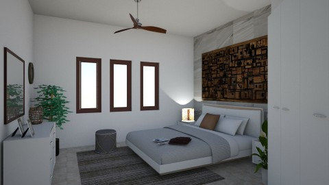 BED TRIAL 1 - Bedroom - by arkitekturaUAE