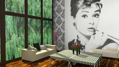 Audrey ROom - Classic - Living room - by TheAlgonaGirl
