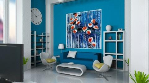 Living in plastic  - Minimal - Living room - by mirkaaa