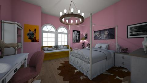 Horsegirl room - Rustic - Bedroom - by Jojo Bear