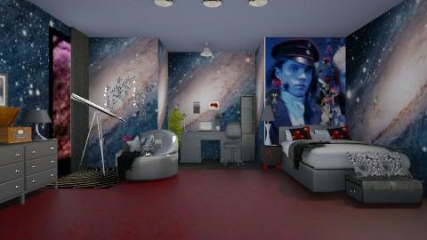 ANGELICAS BEDROOM - Retro - Bedroom - by devonsia