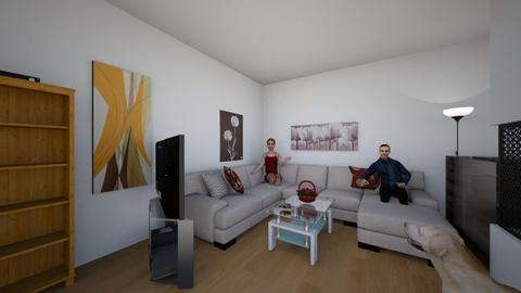 Wohnzimmer 5 - Classic - Living room - by ilkipilki