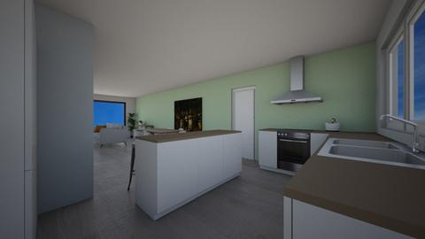 open keuken 4 - Kitchen - by Mthe