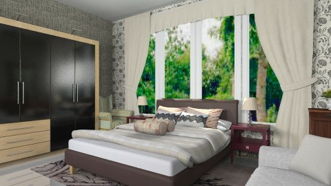 marking bed - Classic - Bedroom - by Veny Mully
