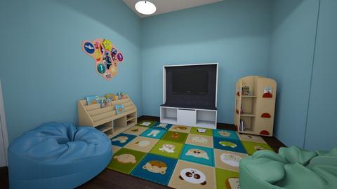 Circle tume - Kids room - by Lika T