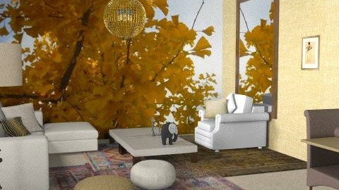 Living 3 - Rustic - Living room - by hunny