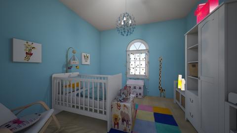 Upstair 3 - Kids room - by AleksandraZaworska98
